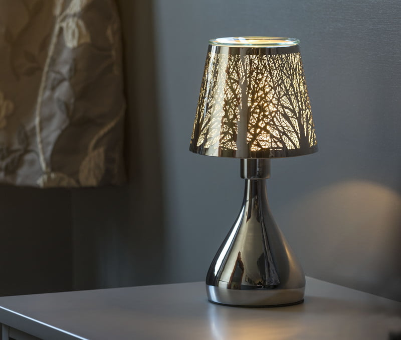 AQUALINA Aroma Table Lamp Forest Chrome