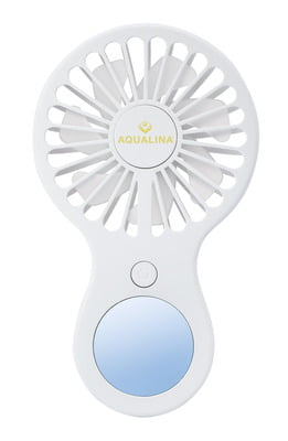 Aqualina Slimline Fan - WHITE