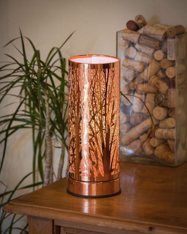 AQUALINA Aroma Touch Lamp Forest Rose Gold