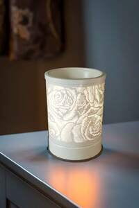 Mini Aroma Touch Lamp White Rose